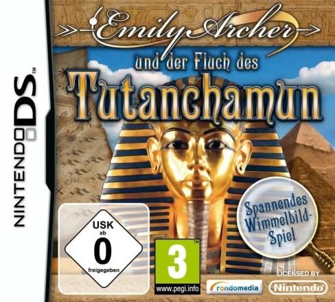 Emily Archer und der Fluch des Tutanchamun - Cover NDS