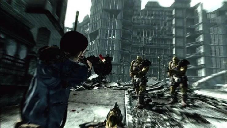 Grüne Fieslinge in Fallout 3 im Anmarsch