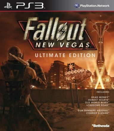 Fallout: New Vegas - Cover Ultimate Edition PS3