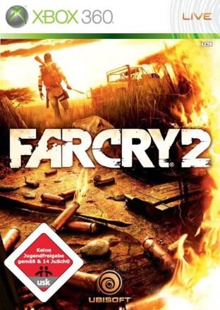 Far Cry 2 - Packshot Xbox 360