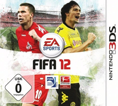 FIFA 12 - Cover 3DS