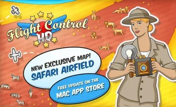 Flight Control HD: Safari Airfield
