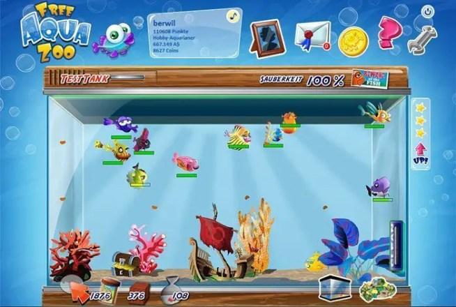 Free Aqua Zoo - Screenshot