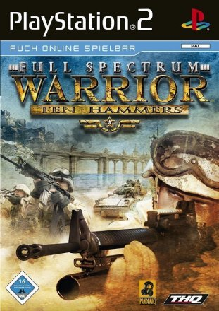 Full Spectrum Warrior: Ten Hammers - Cover PS2