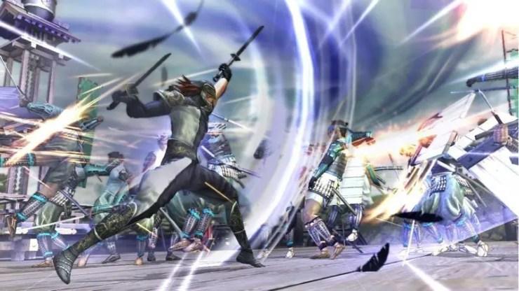 Sengoku Basara: Samurai Heroes - Screenshot