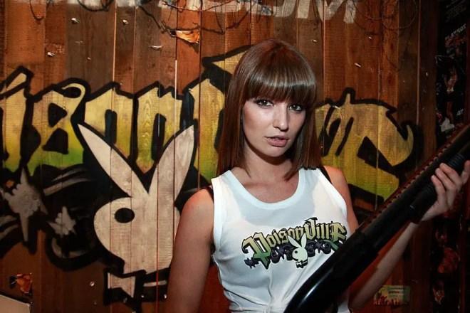 Bernadette Kaspar auf GamesCom 2010, Foto: Frederic Schneider
