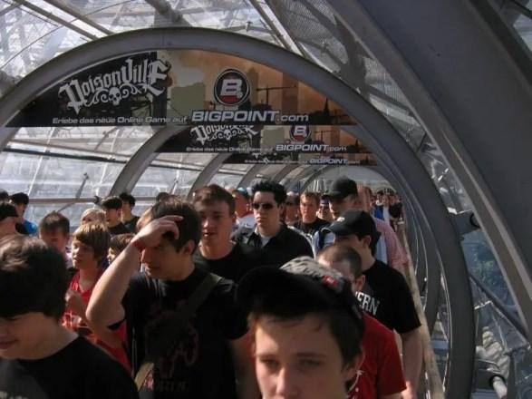 Games Convention Online 2009 - Foto vom Samstag
