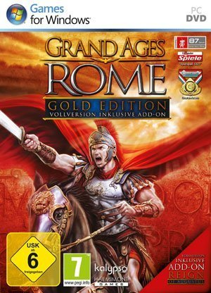 Grand Ages Rome: Gold Editon - Packshot