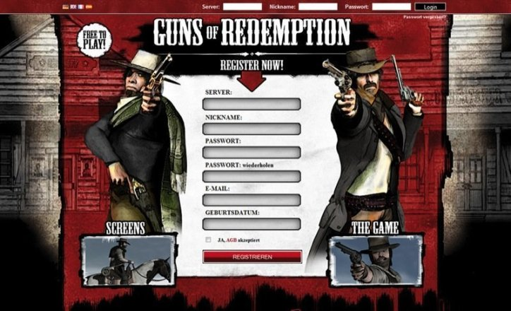 Guns of Redemption - Screenshot
