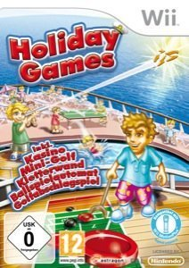 Holiday Games - Cover Wii