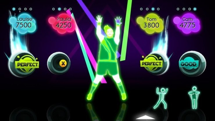 Just Dance 2: Sweat Invaders