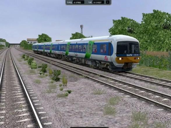 Rail Simulator - Screenshot