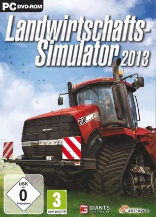 Landwirtschafts-Simulator 2013 - Cover PC