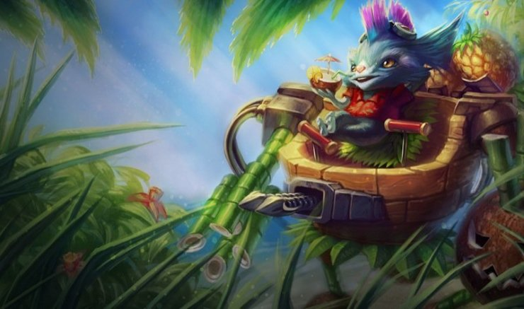 League of Legends - Rumble im Jungle
