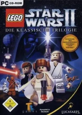 LEGO Star Wars 2: Die klassische Trilogie - Cover PC