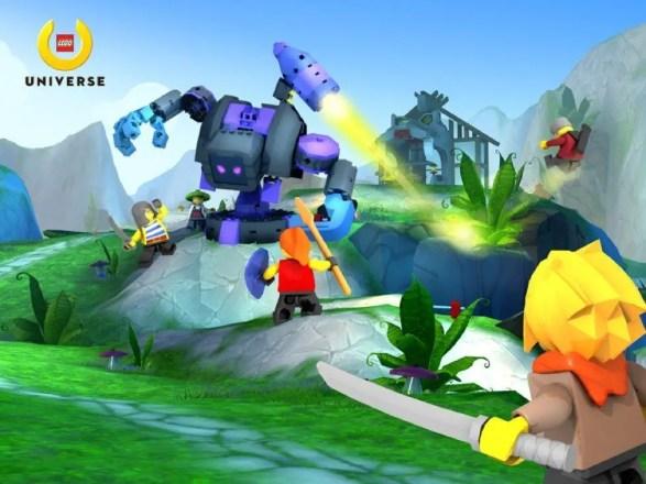 LEGO Universe - ungleicher Kampf