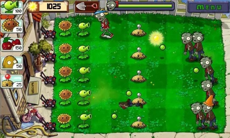 Pflanzen gegen Zombies - Screenshot