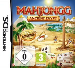 Mahjongg Ancient Egypt - Packshot NDS