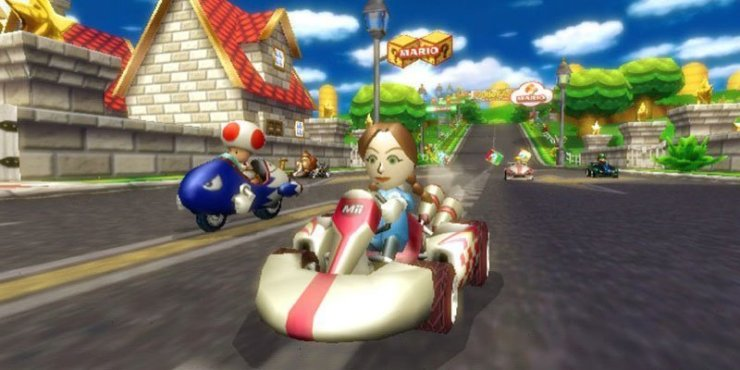 Mario Kart Wii - Screenshot