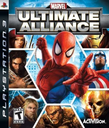 Marvel: Ultimate Alliance - Cover PS3