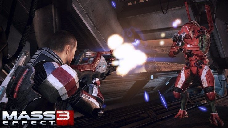 Mass Effect 3 - Screenshot GamesCom 2011