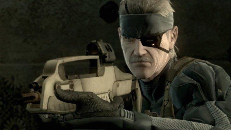 Metal Gear Solid 4: Screenshot