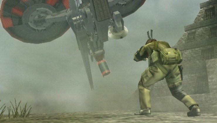 Metal Gear Solid: Peace Walker - Screenshot PSP