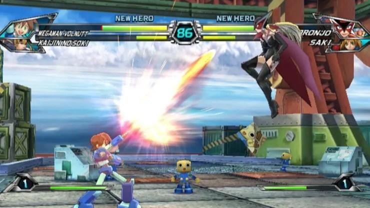 Tatsunoko vs Capcom Ultimate All-Stars - Megaman Volnutt
