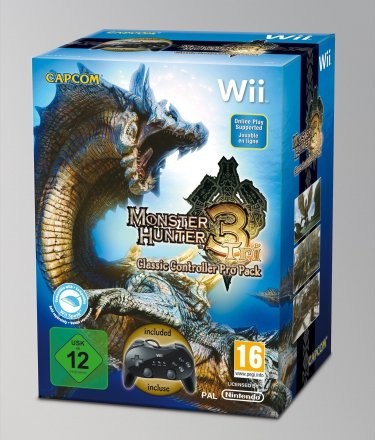 Monster Hunter Tri - Classic Controller Pro Pack
