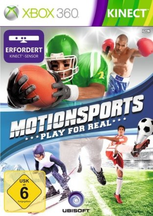 MotionSports - Cover Xbox 360