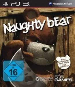 Naughty Bear - Cover PS3