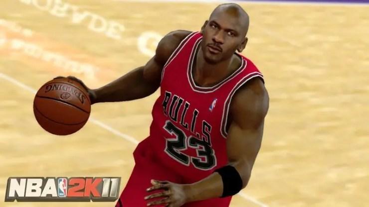 NBA 2K11 - Michael Jordan