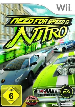 Need for Speed: Nitro - Cover Wii