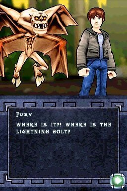 Percy Jackson: Diebe im Olymp - NDS-Screenshot