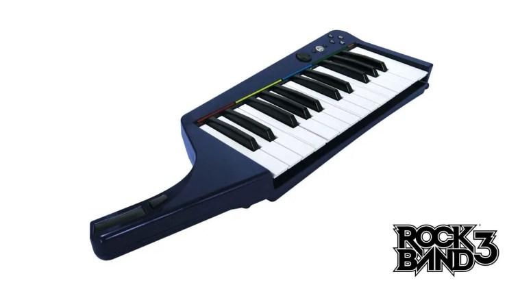 Mad Catz Keyboard für Rock Band 3