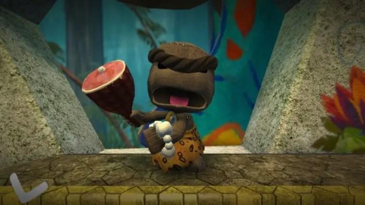 Sackboy's Prehistoric Moves - Screenshot
