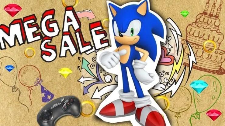 SEGA Mega Sale