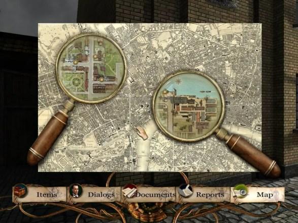 Sherlock Holmes: Die Spur der Erwachten - Karte