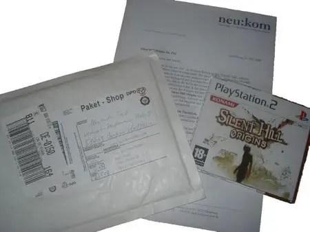Testexemplar von Silent Hill Origins