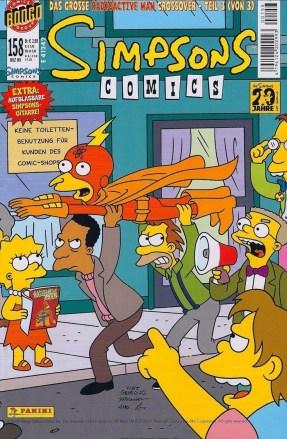 Simpsons Comics #158