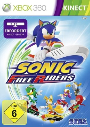 Sonic Free Riders - Cover Xbox 360