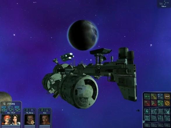 Star Wolves 2 - Screenshot