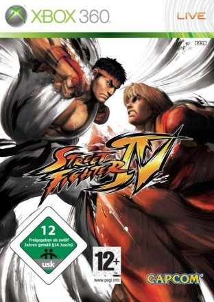 Street Fighter IV - Cover Xbox 360