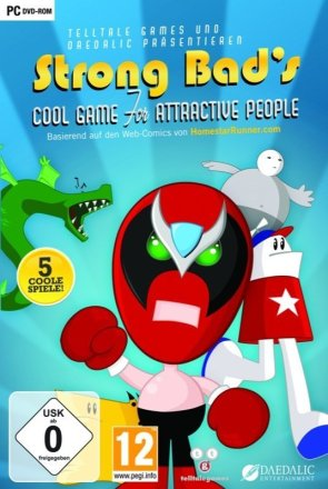 Strong Bad's Cool Game for Attractive People - Cover PC