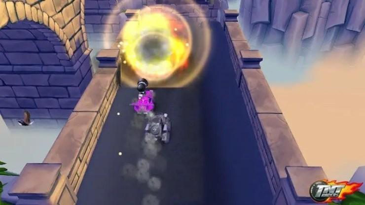 TNT Racers - Screenshot