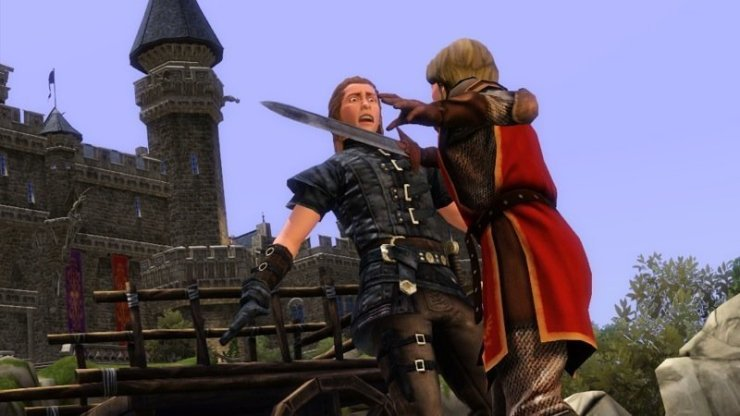 Die Sims Mittelalter - Screenshot
