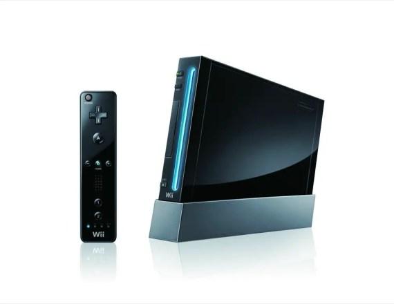 Wii in Schwarz