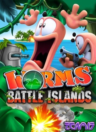 Worms Battle Islands - Cover