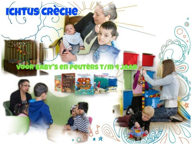 Ichtus Crèche Website Printscreen
