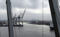 Grauer Hafen.